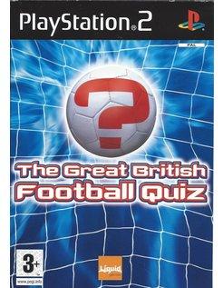 THE GREAT BRITISH FOOTBALL QUIZ voor Playstation 2