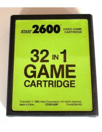 32 IN 1 GAME CARTRIDGE for Atari 2600