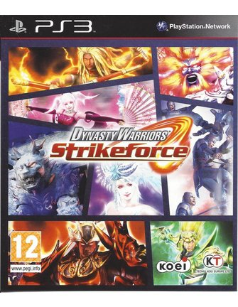 DYNASTY WARRIORS STRIKEFORCE voor Playstation 3 PS3