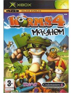 WORMS 4 MAYHEM voor Xbox