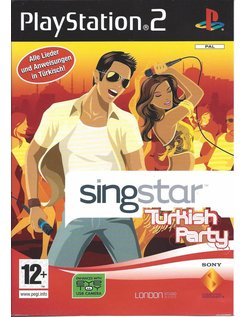 SINGSTAR TURKISH PARTY for Playstation 2 PS2