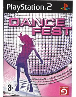 DANCE FEST voor Playstation 2 PS2
