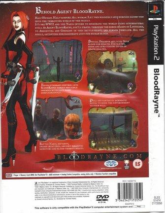 BLOODRAYNE voor Playstation 2 PS2