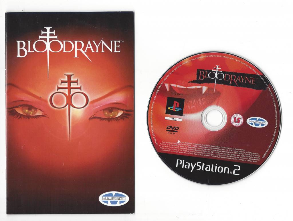 Bloodrayne For Playstation 2 Ps2 Worldwide Shipping Fast