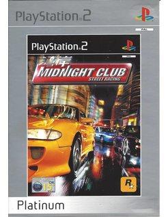 MIDNIGHT CLUB voor Playstation 2 PS2