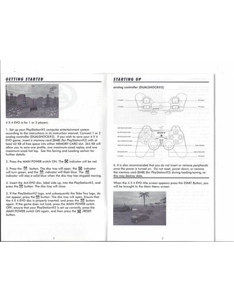 4 X 4 EVOLUTION voor Playstation 2 PS2