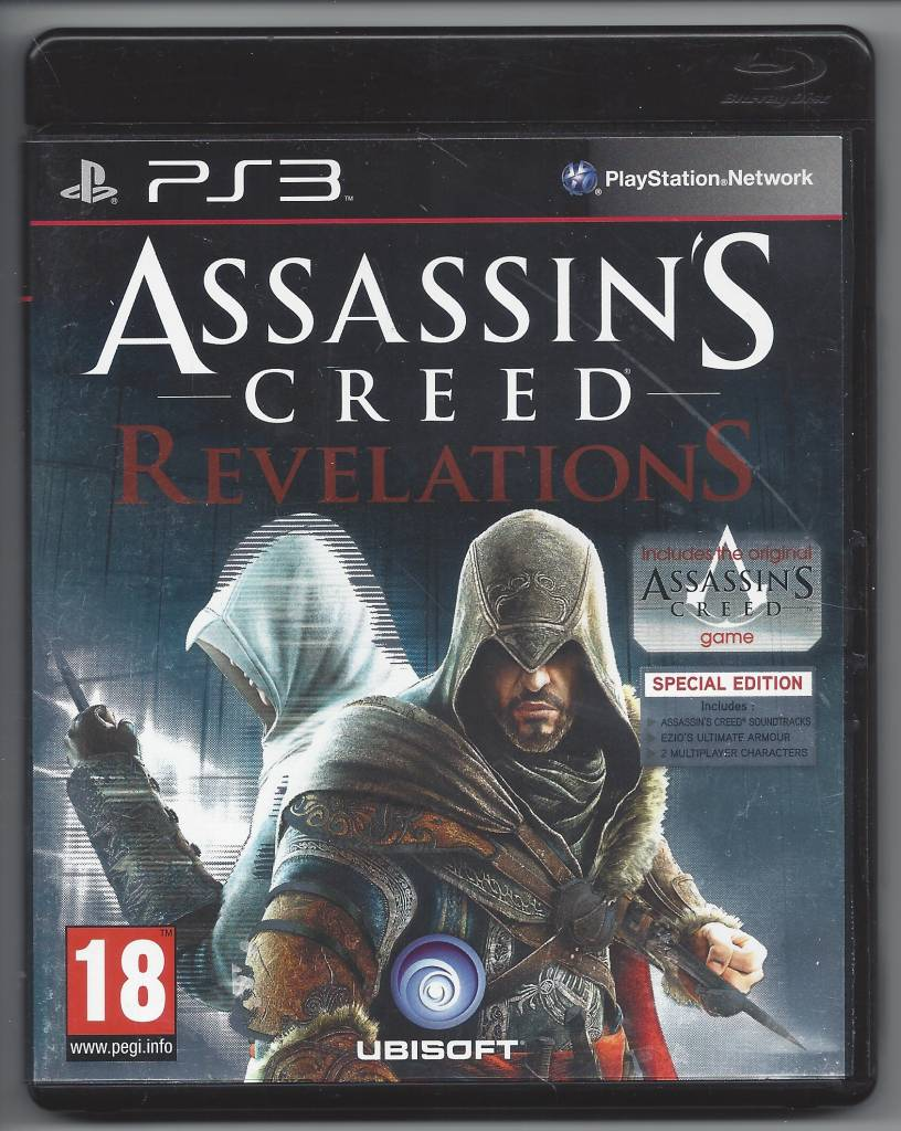Assassin S Creed Revelations Playstation 3 Ps3 Passion For Games