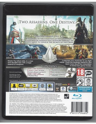 ASSASSIN'S CREED REVELATIONS for Playstation 3 PS3