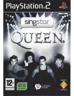 SINGSTAR QUEEN voor Playstation 2 PS2