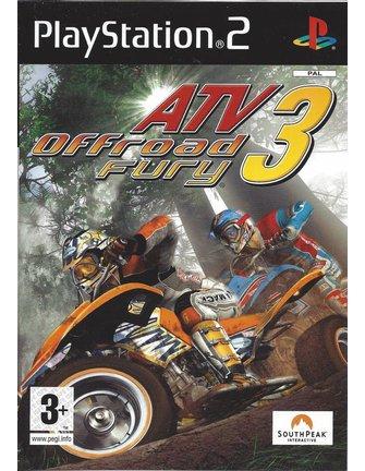 ATV OFFROAD FURY 3 voor Playstation 2 PS2