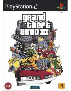 GRAND THEFT AUTO GTA III (3) die Playstation 2