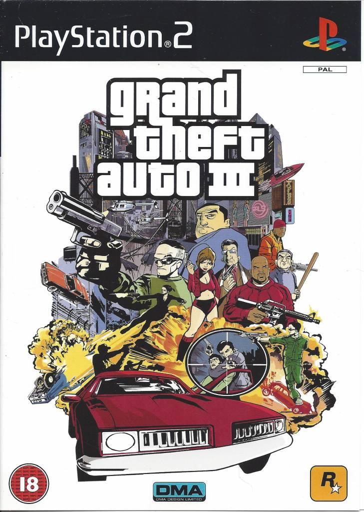 Grand Theft Auto III - Playstation 2 PS2 PAL CIB - Passion