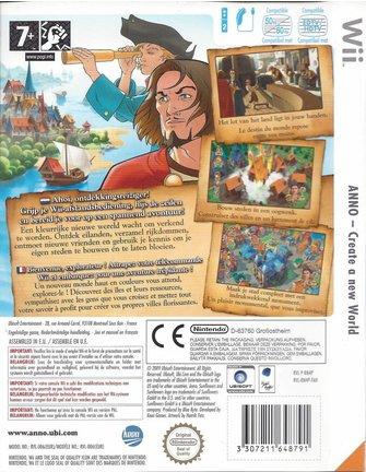 ANNO - CREATE A NEW WORLD für Nintendo Wii