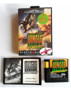 JUNGLE STRIKE for Sega Genesis