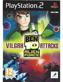 BEN 10 ALIEN FORCE VILGAX ATTACKS voor Playstation 2 PS2