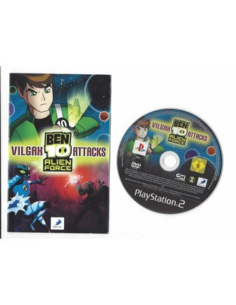 BEN 10 ALIEN FORCE VILGAX ATTACKS for Playstation 2 PS2