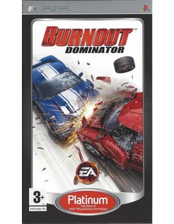 BURNOUT DOMINATOR voor PSP - Platinum