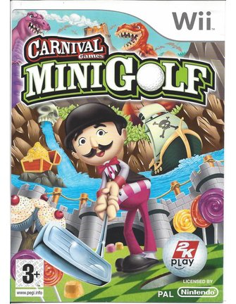CARNIVAL GAMES MINI GOLF for Nintendo Wii
