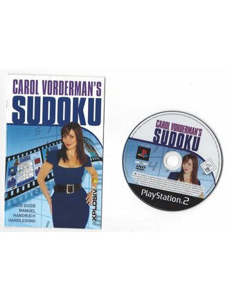 CAROL VORDERMAN'S SUDOKU für Playstation 2 PS2