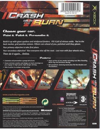 CRASH N BURN voor Xbox