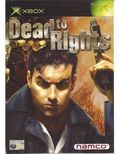 DEAD TO RIGHTS für Xbox