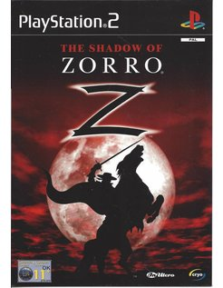 THE SHADOW OF ZORRO for Playstation 2 PS2