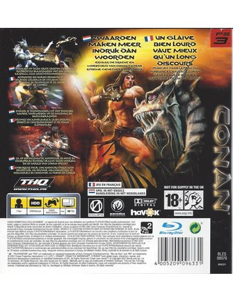CONAN voor Playstation 3 PS3