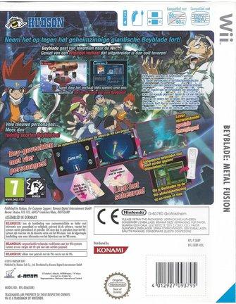 BEYBLADE METAL FUSION - COUNTER LEONE für Nintendo Wii