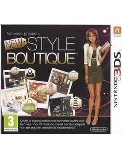 NEW STYLE BOUTIQUE voor Nintendo 3DS