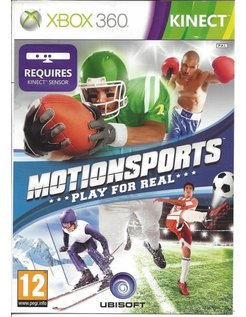 MOTIONSPORTS PLAY FOR REAL voor Xbox 360