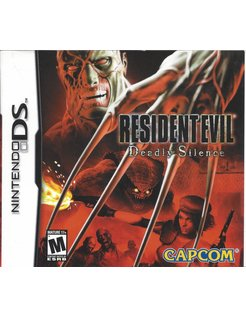 RESIDENT EVIL DEADLY SILENCE for Nintendo DS