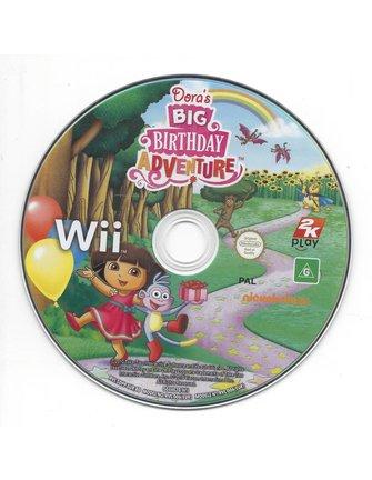 DORA'S GROTE VERJAARDAG AVONTUUR voor Nintendo Wii