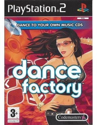 DANCE FACTORY voor Playstation 2 PS2