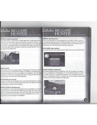 CABELA'S BIG GAME HUNTER 2005 ADVENTURES voor Playstation 2 PS2