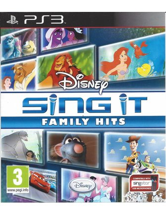 DISNEY SING IT FAMILY HITS für Playstation 3 PS3