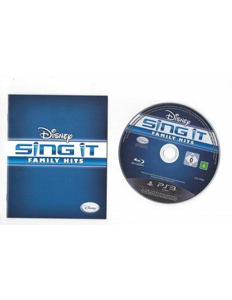 DISNEY SING IT FAMILY HITS for Playstation 3 PS3