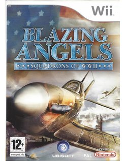 BLAZING ANGELS SQUADRONS OF WWII for Nintendo Wii