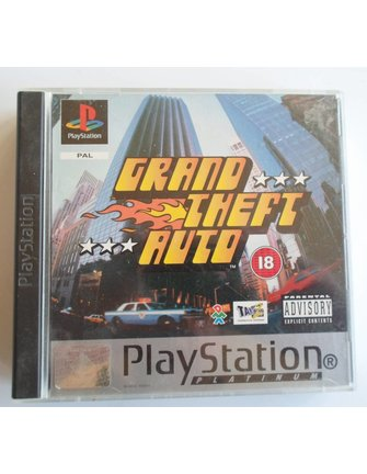 GRAND THEFT AUTO GTA voor Playstation 1 PS1