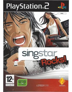 SINGSTAR ROCKS voor Playstation 2 PS2