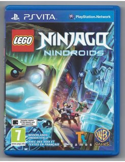 LEGO NINJAGO NINDROIDS for PS VITA