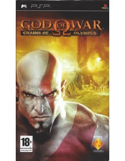 GOD OF WAR CHAINS OF OLYMPUS voor PSP