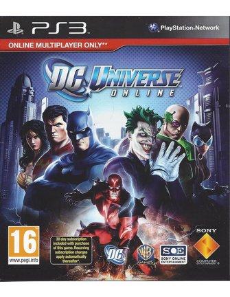DC UNIVERSE ONLINE voor Playstation 3 PS3