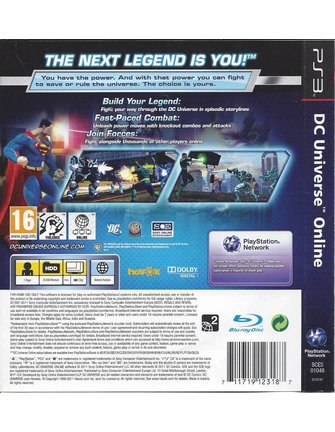 DC UNIVERSE ONLINE für Playstation 3 PS3