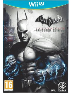 BATMAN ARKHAM CITY - ARMOURED EDITION voor Nintendo Wii U