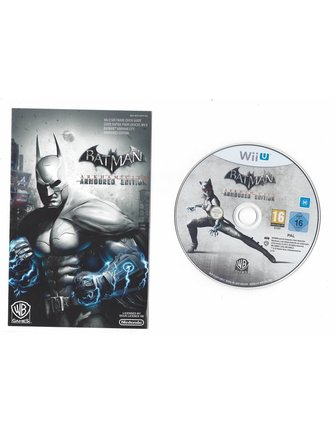 BATMAN ARKHAM CITY - ARMOURED EDITION voor Nintendo Wii U