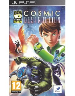 BEN 10 ULTIMATE ALIEN COSMIC DESTRUCTION voor PSP