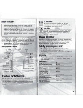 BURNOUT LEGENDS voor PSP