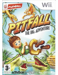 PITFALL THE BIG ADVENTURE for Nintendo Wii