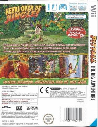PITFALL THE BIG ADVENTURE for Nintendo Wii