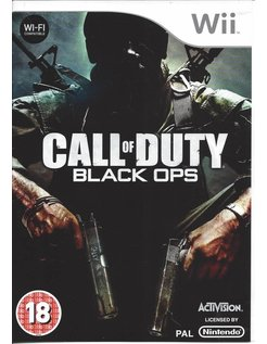 CALL OF DUTY BLACK OPS voor Nintendo Wii